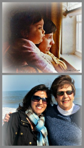 me and mom collage