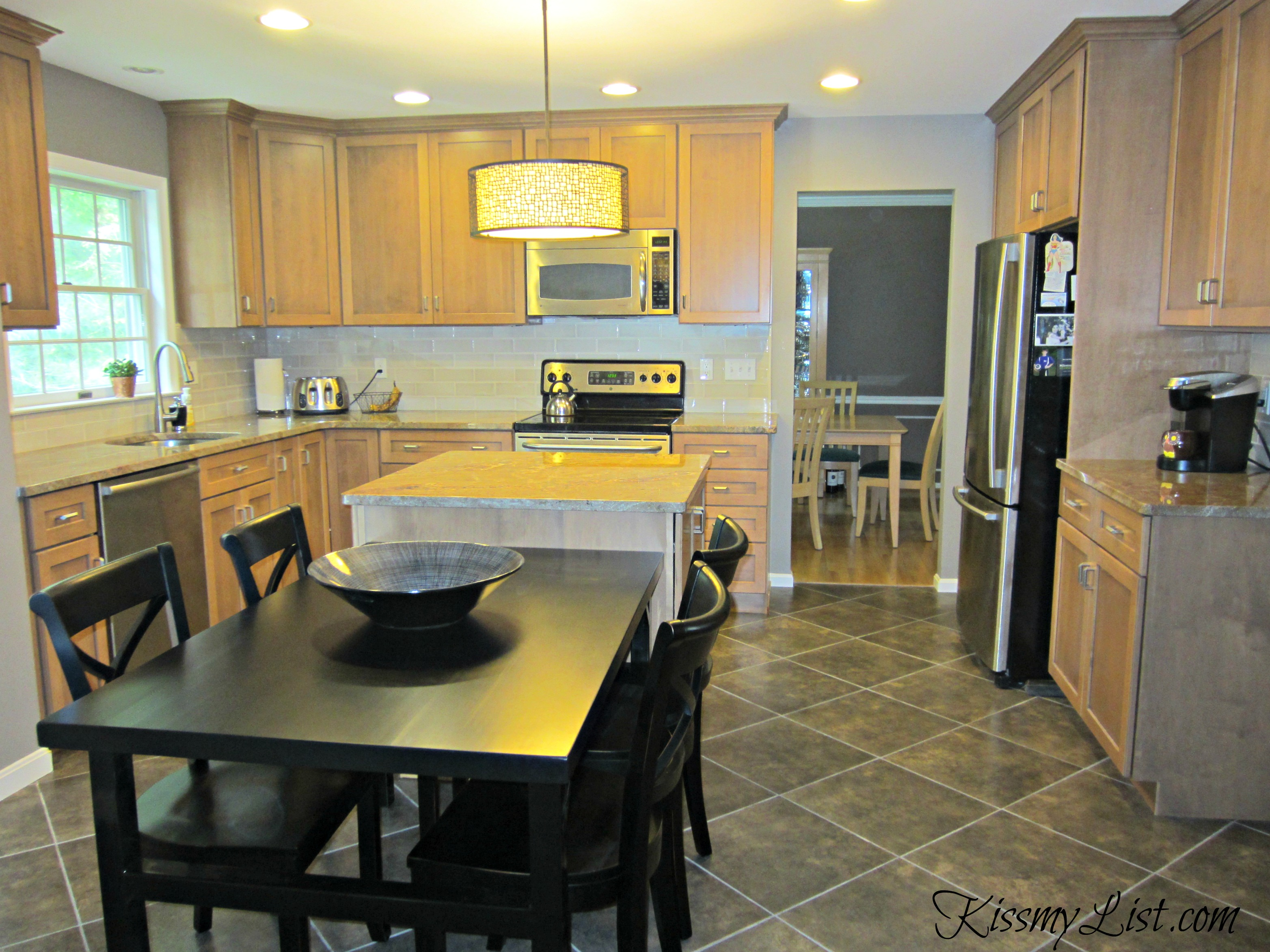 The big reveal kitchen remodel is complete kiss my list for Complete new kitchen