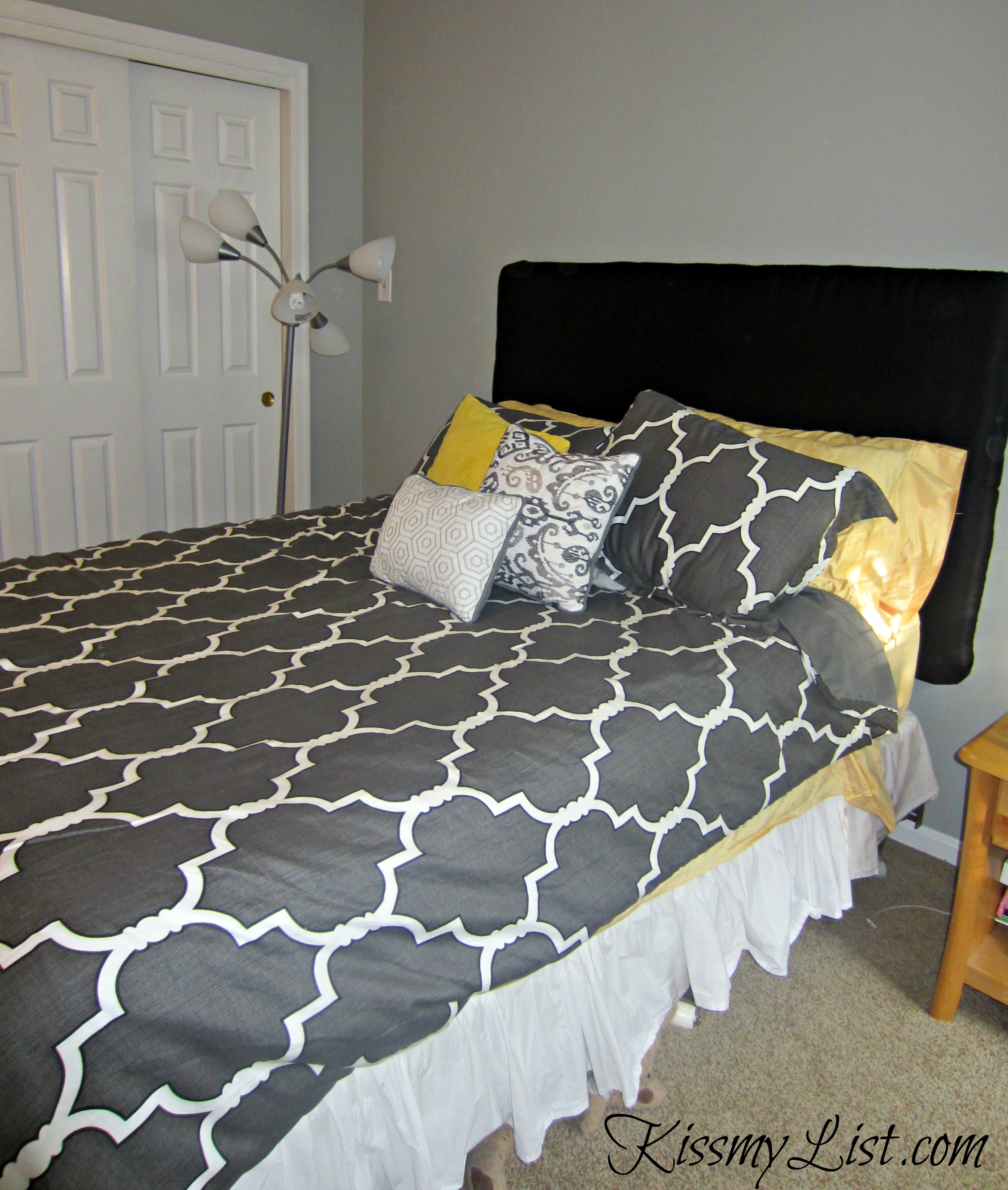 task tufted to our creating medium headboard hard own upholstered a was diy it